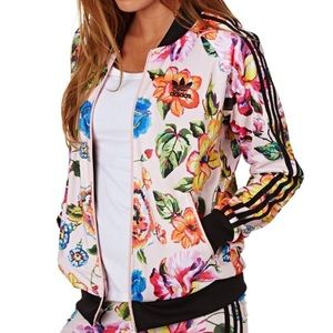 RARE Adidas from Singapore - Floral Track Jacket